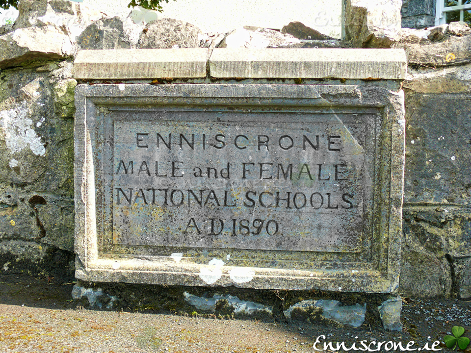Enniscrone Male and Female National Schools AD 1890